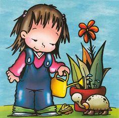 Foto: School Decorations, Cute Little Girls, Cute Illustration, Learn English, Princess Peach, Kindergarten, Clip Art, Album, Children