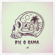 What's In My Head?  #jamiebrowneart #fuzz #tropical #death #daydreaming #chill…