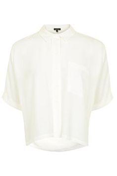Short Sleeve Roll Up Shirt