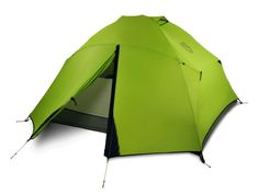 The Nemo Losi 3 person backpacking tent is the best lightweight, freestanding, 3-season backpacking and camping tent. GetdatGadget.com/losi-3-tent-perfectly-balances-space-weight-weatherproofing/