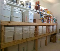emergency food storage pantry | All food storage needs to be in air-tight, waterproof containers ...