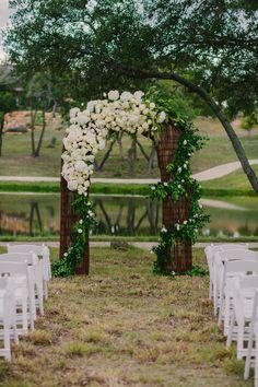 Floral Wedding Arch | PhotoHouse Films Wedding Photography & Videography | Theknt.com