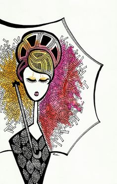 Luciana Pupo, illustration - ego-alterego.com