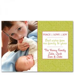 Swanky Press > Holiday > christmas photo cards (2 sided)