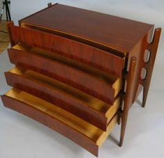 Modern Rosewood Chest by Edmund J. Spence image 5