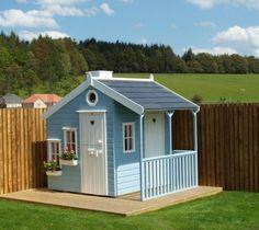 playhouse with veranda