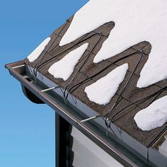 How to Prevent Ice Dams With Deicing Cables