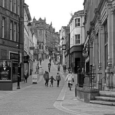 Ivegate Bradford City, Yorkshire, Beautiful Places, Street View, Memories, History, Projects, Vintage, Art