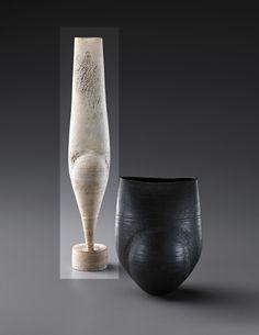 """PHILLIPS : NY050413, HANS COPER, Tall """"Cycladic"""" form circa 1967"""