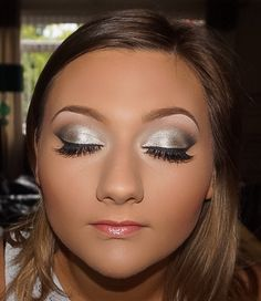 My beauty Megan's prom makeup from a couple of weeks back. Silver smokey eyes to go with her gorgeous navy dress #prommakeup #prom #lashes #silvereyes #smokeyeye #mac #mua #makeup #makeover #makeupgoals #makeupaddict #makeuplover #makeupartist #makeupartistsworldwide #wakeupandmakeup #contour #highlight #makeupjunkie #brows @makeupartists_worldwide