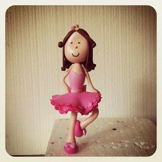 Dancing little girl