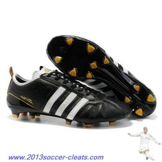 new arrival fec73 93480 Authentic Adidas Adipure IV Trx FG SL Cleat Black White For Sale