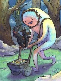 Adventure Time fan art from FB.