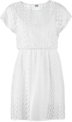Pin for Later: 40 weiße Sommerkleider unter 100 €  Vero Moda weißes Kleid aus Spitze (40 €)