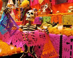 altar de muertos en México.
