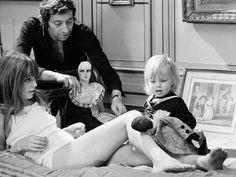 Gainsbourg X Birkin X doughter Kate