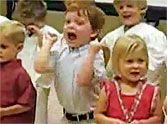 Blessed Little Boy Becomes Overjoyed in Sunday School - Too Cute!