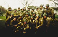 Band of Brothers Cast Photo