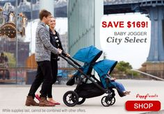 Save 24% on the 2015 Baby Jogger City Select double stroller | PeppyParents