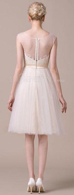 Die besten 25+ Brautkleid standesamt Ideen auf Pinterest ...