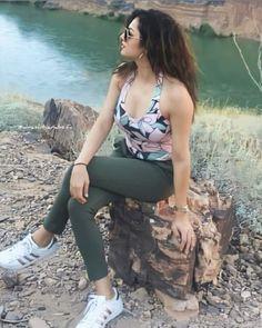 Drashti Dhami, Beautiful Girl Photo, Girl Photos, Sporty, Selfie, Photo And Video, Blouse, Bikinis, Instagram