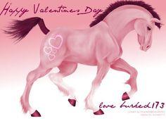 Valentine Horse by burked173
