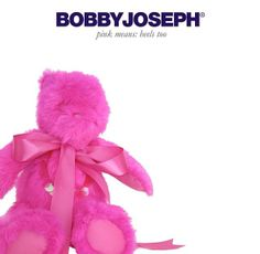 BOBBY JOSEPH® Custom-dyed Rabbit Fur Teddy Bears  - Fellas, according to 'The Valentine Manual', PINK means you're gonna get the heels too.