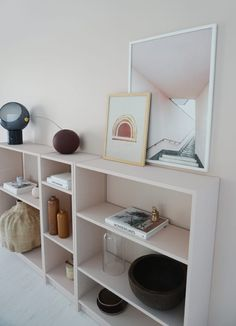 Take a look at this interesting girls room ikea - what an ingenious project Ikea Billy Bookcase White, Billy Bookcases, Libreria Billy Ikea, Ikea Billy Hack, Ikea Kids Room, Pallet Tv Stands, Diy Furniture Projects, Shelving, Birthday Bash