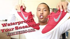 Waterproof Your Sneakers With Hydro-LOK Video by Dontae Catlett. Watch the video: https://rainguard.com/?p=3132 #waterproof #sneakers #nike #hydrolok #rainguard