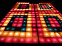 Dance floor from 2001 Odyssey(Saturday Night Fever). Would love to have the dance floor, lighting, sound system, etc., for a get together with friends and family. Disco 70s, Disco Funk, Saturday Night Fever Dance, Light Up Dance Floor, Disco Floor, 70s Funk, Boogie Nights, Wedding Mood Board, Disco Party