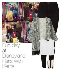 """""""Fun day at Disneyland Paris with Perrie"""" by little-bells ❤ liked on Polyvore featuring Topshop, Fujifilm, Chicnova Fashion, Elizabeth and James, Converse, Smashbox, River Island, littlemix, perrieedwards and littlemixstyle"""