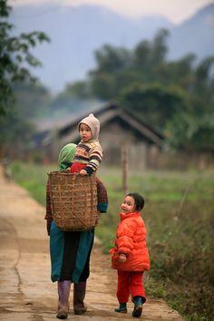 Heading Home ~ Ha Giang, Vietnam::