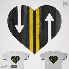LOVE IS A TWO WAY STREET on Threadless