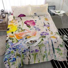 Queen Duvet Cover Set Organic cotton duvet cover Boho duvet | Etsy Bed Cover Sets, Bed Covers, Boho Duvet Cover, Single Duvet Cover, Duvet Bedding, Cotton Duvet, Queen Duvet, Duvet Sets, Bedroom Sets
