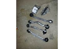 B6 front upper control arm kit w/hardware