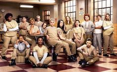"""Honest Titles For Netflix Shows - """"Orange is the New Black"""" (CollegeHumor Post) Orange Is The New Black, Taylor Schilling, Group Halloween Costumes, Group Costumes, Halloween Ideas, Twenty One Pilots, Once Upon A Time, Harley Quinn, Teaser"""