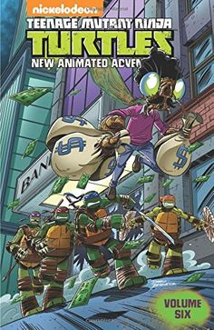 Teenage Mutant Ninja Turtles: New Animated Adventures Volume 6 by Paul Allor http://www.amazon.ca/dp/1631403966/ref=cm_sw_r_pi_dp_mUkKwb1XN2Y9E