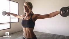 Quick Upper-Body Workout | Danielle Belanger | Bodybuilding.com
