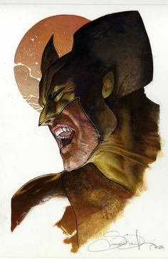 Wolverine by SIMONE BIANCHI /
