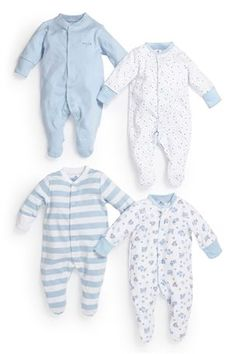 $29 - Boys' Sleepsuits Four Pack (0mths-2yrs) - also comes in onesies etc