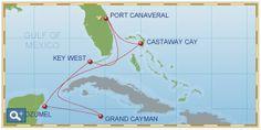 Disney cruise - western carribean