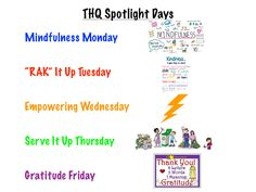 """""""Spotlight"""" days are a great way to give special attention to important ideas and priorities. Elsewhere on this page you will find the visuals that I use to introduce each day's focus to my students. I learned of this idea at the SHAPE Tampa physical education conference in April of 2019. Education Conferences, Teaching Career, Social Skills, Physical Education, Priorities, Spotlight, Physics, Meant To Be, Students"""
