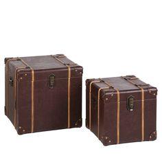 Este set de baúles está hoy rebajado en hogaresconestilo.com #home #hogar #estilo #deco #decoración