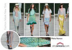Misha Nonoo SS 2014 New York Fashion Week