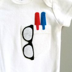 Baby boy onesie. This is my cousins company! So cool to come across it on Pinterest!