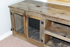 rustic entertainment center | Reclaimed Rustics