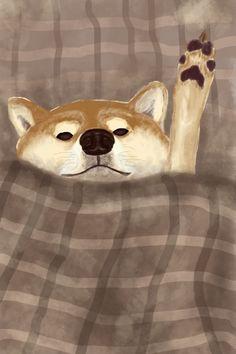 Hachiko, Pet Dogs, Pets, Aesthetic Painting, Cool Art Drawings, Shiba Inu, Aesthetic Iphone Wallpaper, Akita, Dog Love