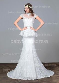 Find More Wedding Dresses Information about Princess Style 100% New Arrival Vestidos De Novia 2015 Beaded Crystal Lace Wedding Dresses Sexy See Through Bridal Gowns,High Quality gown embroidery,China dress smart Suppliers, Cheap dress sheer from party  Queen Fashion Store on Aliexpress.com