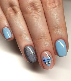 Lovely Valentine's Day Nail Ideas * 2020 - Elegant Life French Nail Designs, Beautiful Nail Designs, Cool Nail Designs, Toe Nail Art, Toe Nails, Long Gel Nails, Heart Nails, French Nails, Nail Manicure