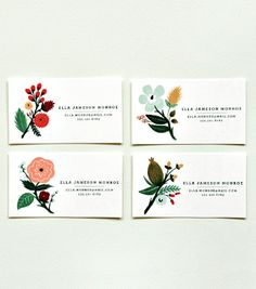 Rifle Paper Co Personalized Calling Cards